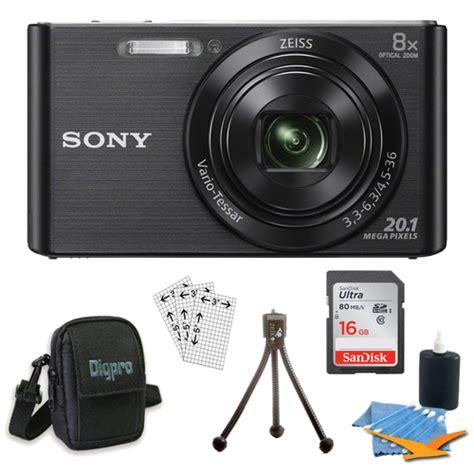 Sony Dsc W830 Free Sdhc Sony 8gb buydig sony dsc w830 cyber black digital