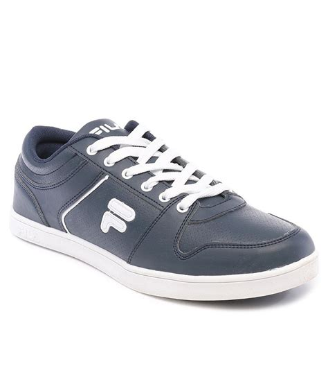 fila cloud navy white casual shoes price in india buy