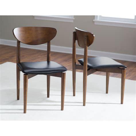 modern dining chairs belham living mid century modern dining chair set of 2 dining chairs at hayneedle