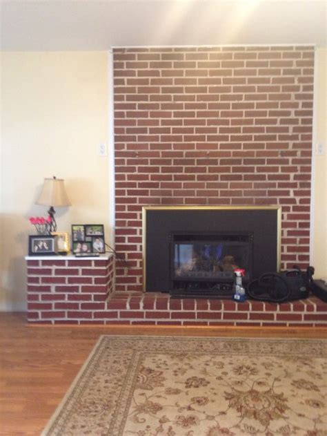 updating brick fireplace wall 301 moved permanently
