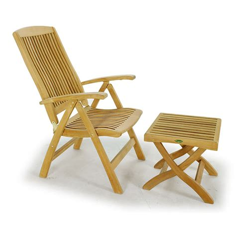 teak recliner barbuda adjustable recliner chair westminster teak