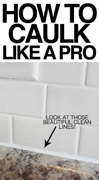 design your own house like a pro house design tips how to caulk like a pro get those beautiful clean lines