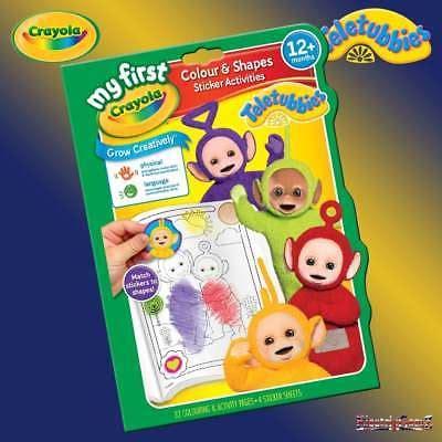 Crayola Shopkins Color N Sticker Book