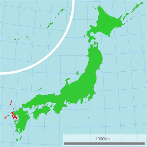 nagasaki map nagasaki prefecture