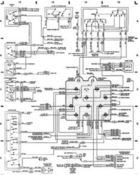 rugged ridge crossword 89 jeep yj wiring diagram jeep wrangler yj electrical service manual diagrams schematics