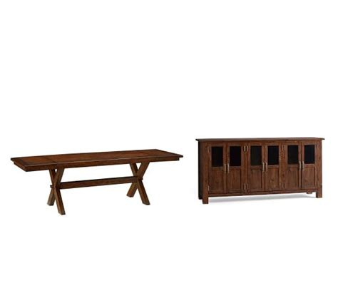 Toscana Extending Dining Table Buffet Tuscan Chestnut Toscana Dining Table