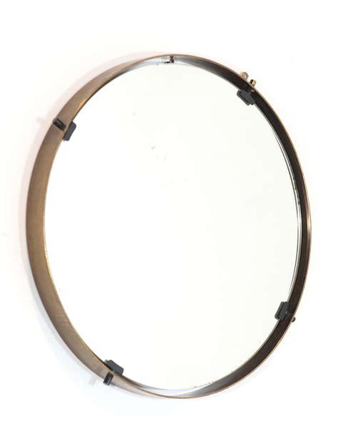 cornici con specchio specchio rotondo con cornice in ottone design cambi