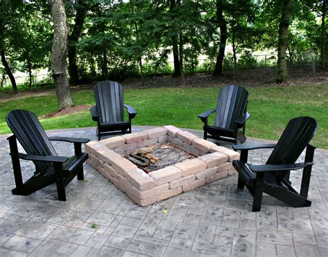 Magical Outdoor Fire Pit Seating Ideas Area Designs Firepit Chairs