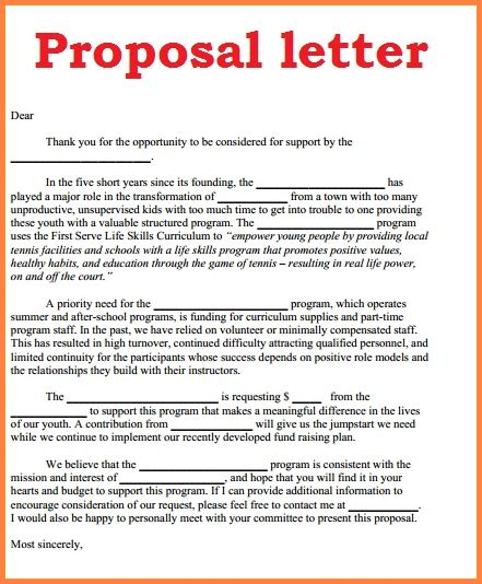 9 how to write a proposal for business project proposal
