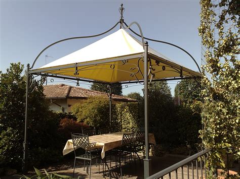 gazebo da terrazzo pergole e coperture per esterno in ferro tendasol