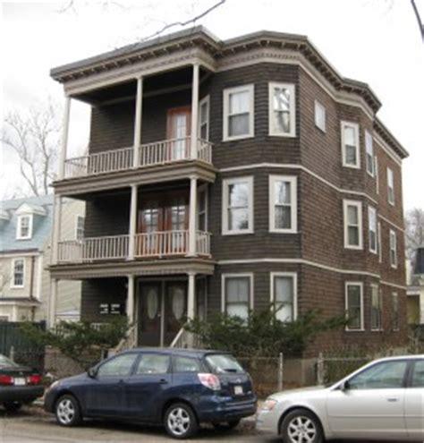 Arlington House Floor Plan Triple Decker House Style Three Family Houses In
