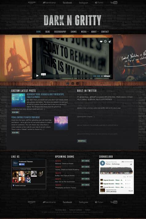 theme wordpress free band best music band audio wordpress themes best