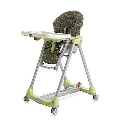 Sale Highchair Kursi Makan Peg Perego Prima Pappa Second peg perego prima pappa green bubbles diner highchair buybuy baby