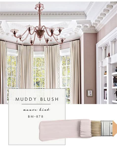 top color palette trends spring  muddy blush