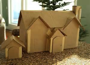 Cardboard House Db Cardboard Gingerbread House Patterns Doghillkitchen