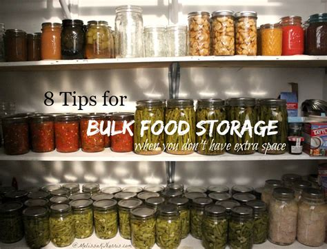 8 tips for bulk food storage k norris