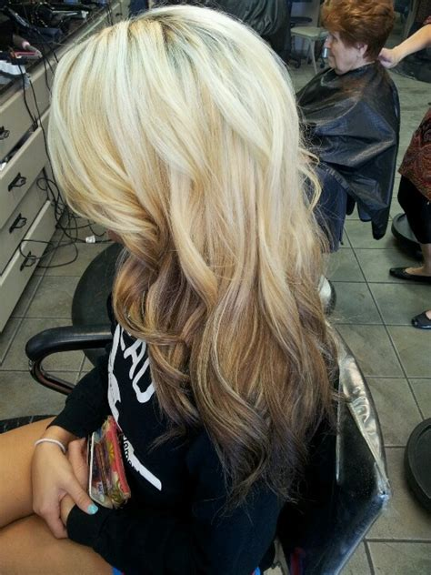 reverse ombre on short hair reverse ombre love just did this to myself but as you