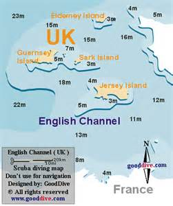 channel islands map gooddive