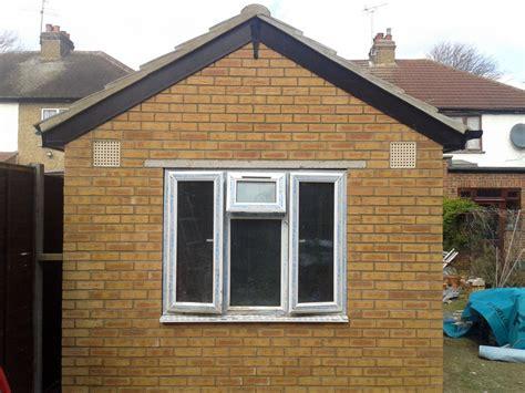 garden brick shed harrow brickwork