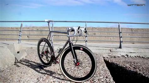 Handmade Cyclocross Bikes - wittson custom cx 001 cyclocross disc titanium bicycle