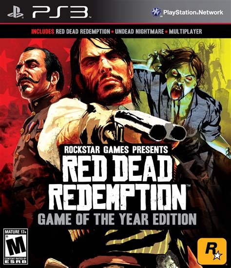 Bd Ps3 Dead Redemption Of The Year Edition dead redemption of the year edition playstation 3 ign