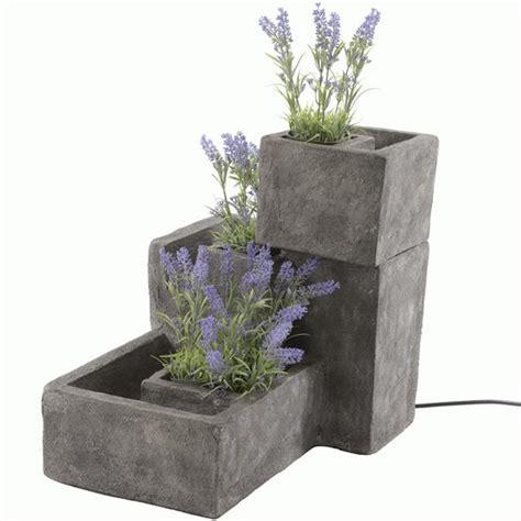 Flower Grc 3 tiered flower pot water premium grc decorative