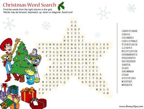 printable christmas word search games printable disney christmas word search disneyclips com