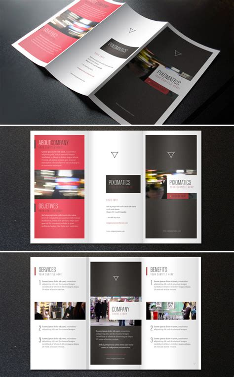 three page brochure template 15 free brochure templates for designers to naldz