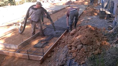 How To Lay A Foundation For A House by Fry S Construction Manufactured Home Concrete Foundation