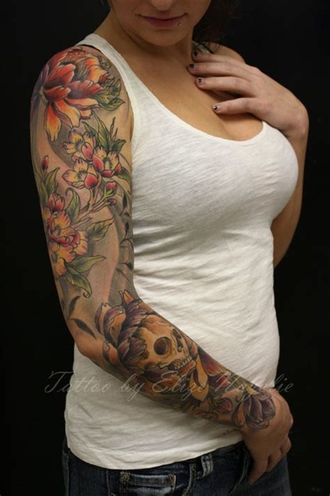 skull tattoos for girls designs 50 cool skull tattoos designs pretty designs
