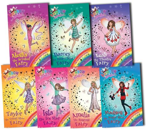 i fairyland book one books rainbow magic showtime fairies collection 7