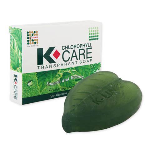 Sabun K Link k chlorophyll care transparant soap k link store
