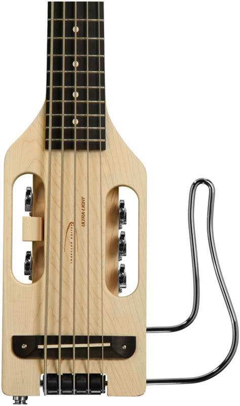 Traveler Guitar Ultra Light Bass 5 String Natural Ultra Light Guitar Strings