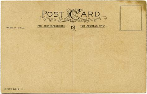 make post card shabby postcard backs free vintage graphics design