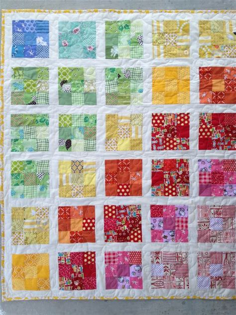 Quilt Designs Using Squares by Mini Quilts Using 2 5 Inch Squares Using 2 Inch