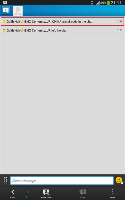 cara memberi wallpaper pada chat bbm cara menghentikan obrolan beberapa orang atau multyperson
