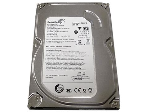 Harddisk Seagate Barracuda 250gb seagate barracuda 7200 12 st3250312as 250gb 7200rpm 8mb