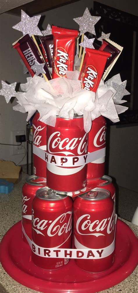 can cake i made this soda can cake for my s birthday