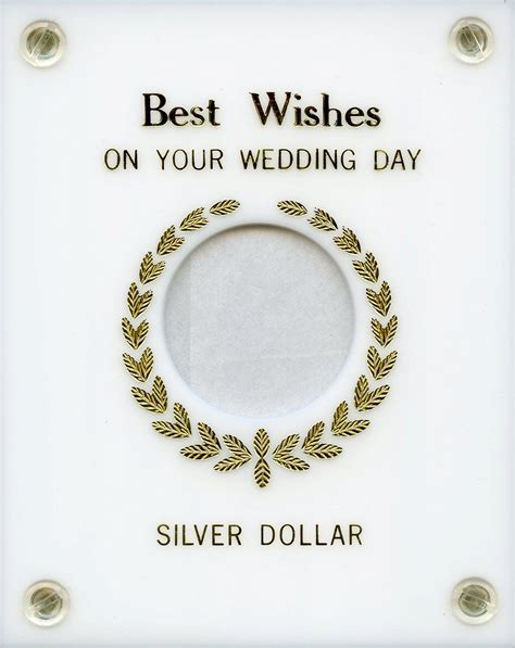 "Capital Plastics ""Best Wishes on your Wedding Day"" Silver"
