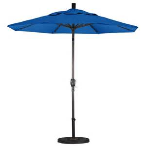 Sears Patio Umbrella California Umbrella 7 5 Market Umbrella Push Tilt Olefin Choice Of Color Outdoor Living