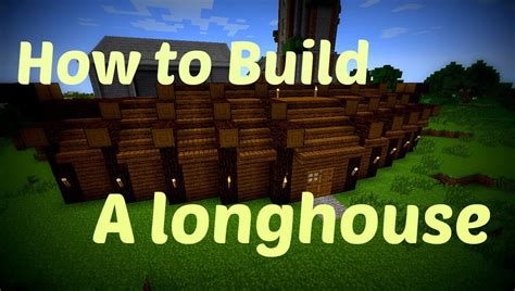 how long to build a house minecraft how to build viking longhouse youtube