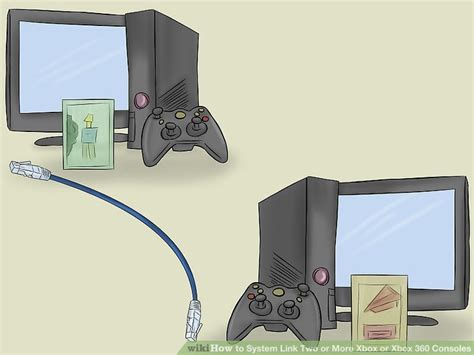 Xbox Console System 1 how to system link two or more xbox or xbox 360 consoles 8 steps