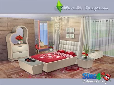 Custom Schlafzimmer Sets by The Sims Resource Valentines Day 2016 By Simcredible