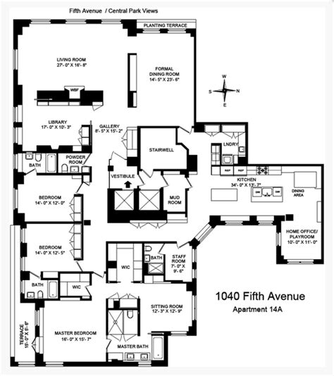 820 Fifth Avenue Floor Plan 43 million newly listed apartment in new york ny homes