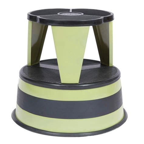 Rolling Kitchen Stool by Cramer Kik Step Rolling Step Stool Celery Green In Step
