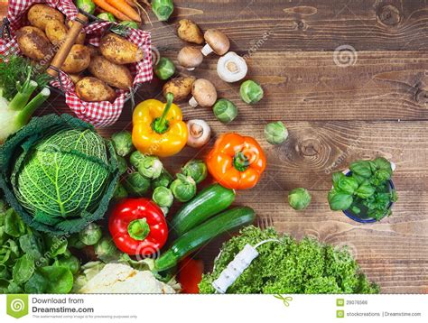 garden fresh vegetables garden fresh vegetables royalty free stock image image