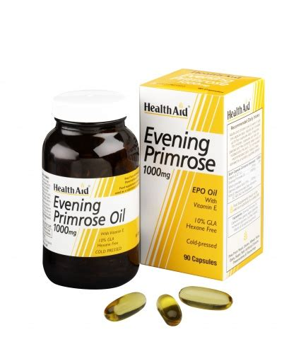 Suplemen Epo evening primrose 1000mg vitamin e 90 vegicaps