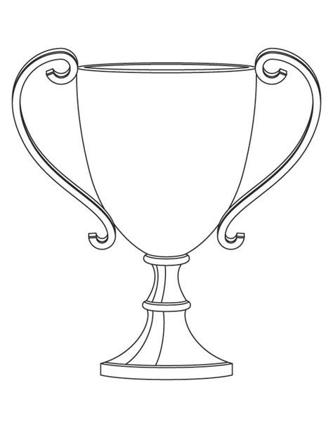 basketball trophy coloring pages trophy coloring page getcoloringpages com
