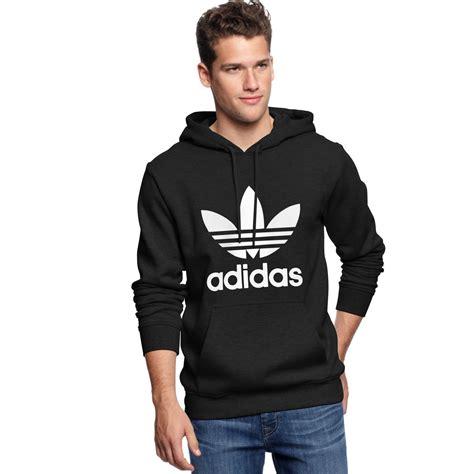 Sweater Uniqlo Pocket Sweatshirt Original lyst adidas adi originals trefoil hoodie in black for