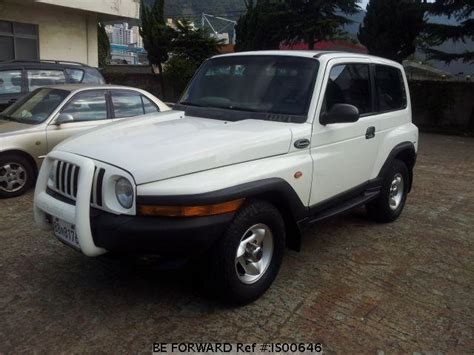 ssangyong korando 1999 used 1999 ssangyong korando kjv dab 2 for sale is00646
